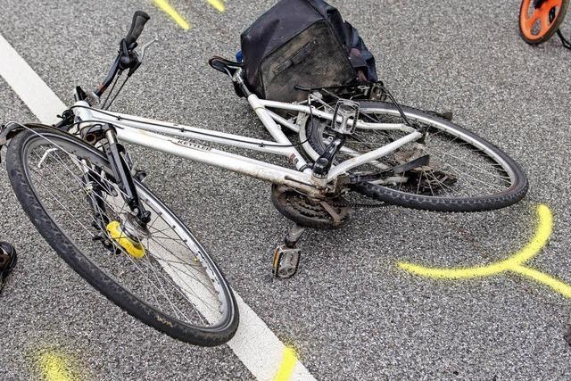 Immer mehr Unfälle mit schnell oder falsch fahrenden Radlern