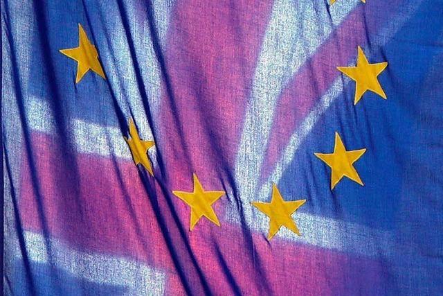 Die Brexit-Verhandlungen stocken