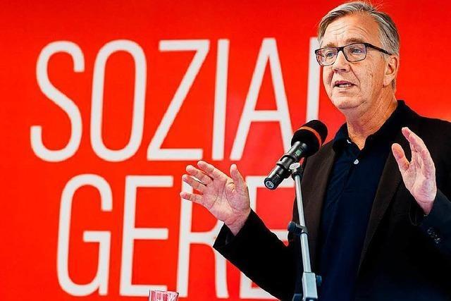 Der Spitzenkandidat der Linken kämpft mit Parteivergangenheit und -zukunft