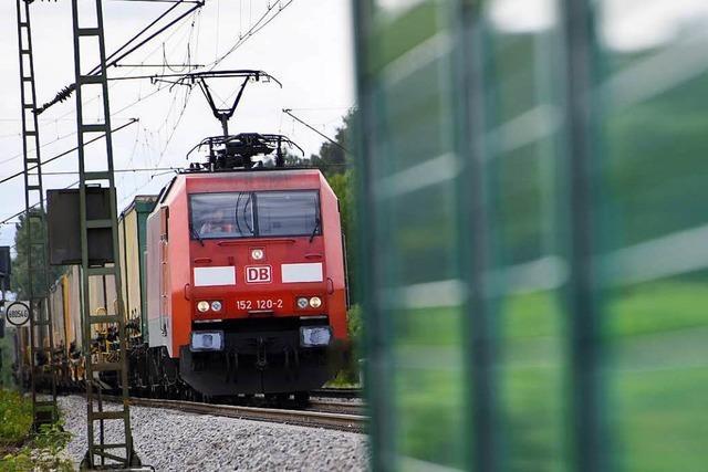 Wie stehen die Kandidaten im Wahlkreis Lörrach-Müllheim zum Lärmschutz an der Rheintalbahn?