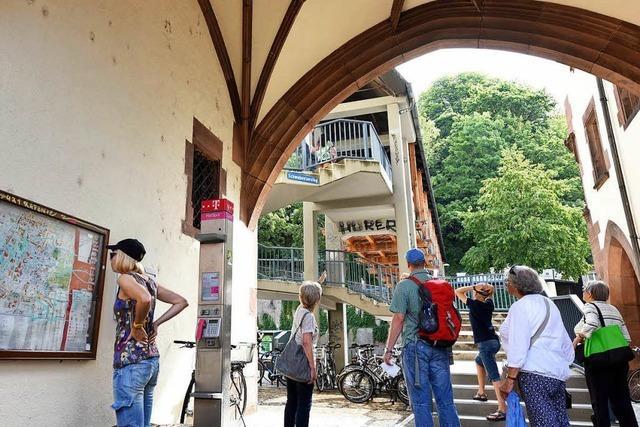 Der Schlossberg ist Freiburgs Visitenkarte - mit Schönheitsfehlern