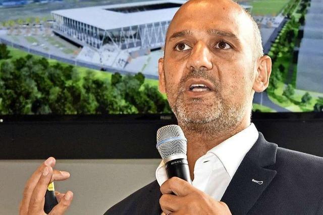 Stadionarchitekt Antonino Vultaggio: