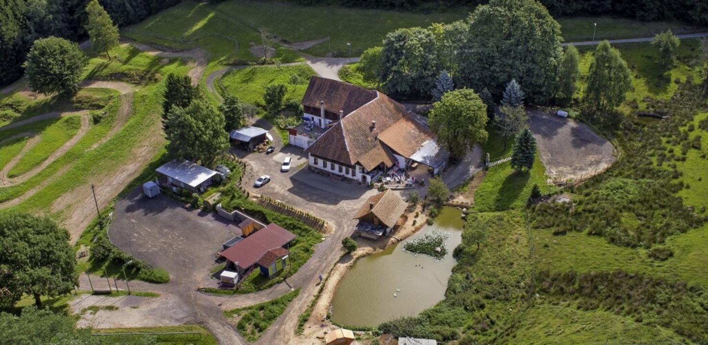 Der Pflingsthof liegt  an der Grenze z...hweighausen und der Gemeinde Freiamt.     Foto: Matthias Weniger