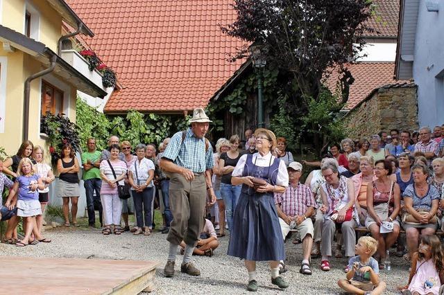 Zum 40.Mal lädt der Ort der Weinbauern zum traditionellen Fest