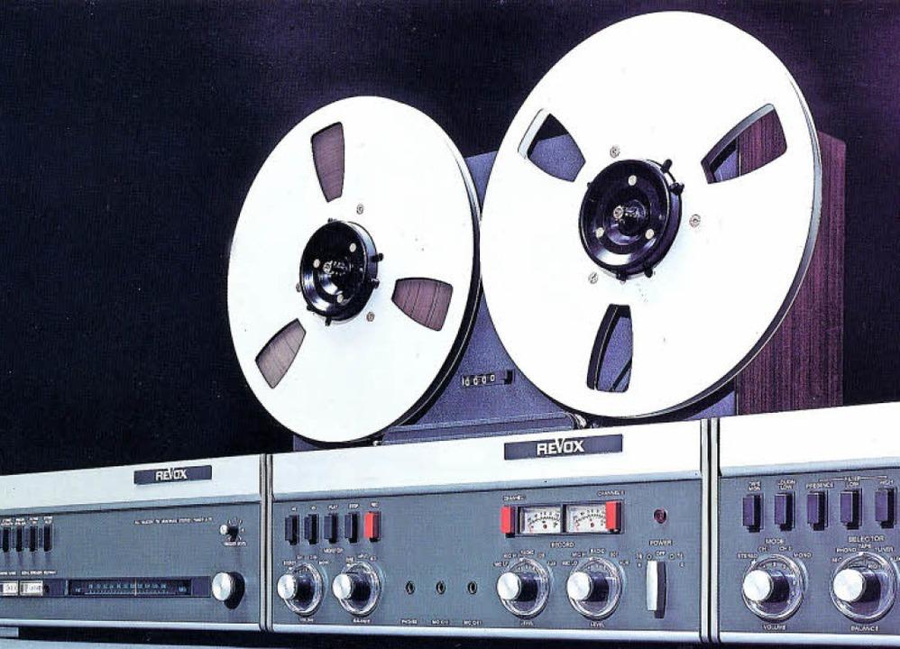 Die Firma Studer-Revox war einmal eine... Produkte. Im Bild Geräte der Serie A.    Foto: Privat