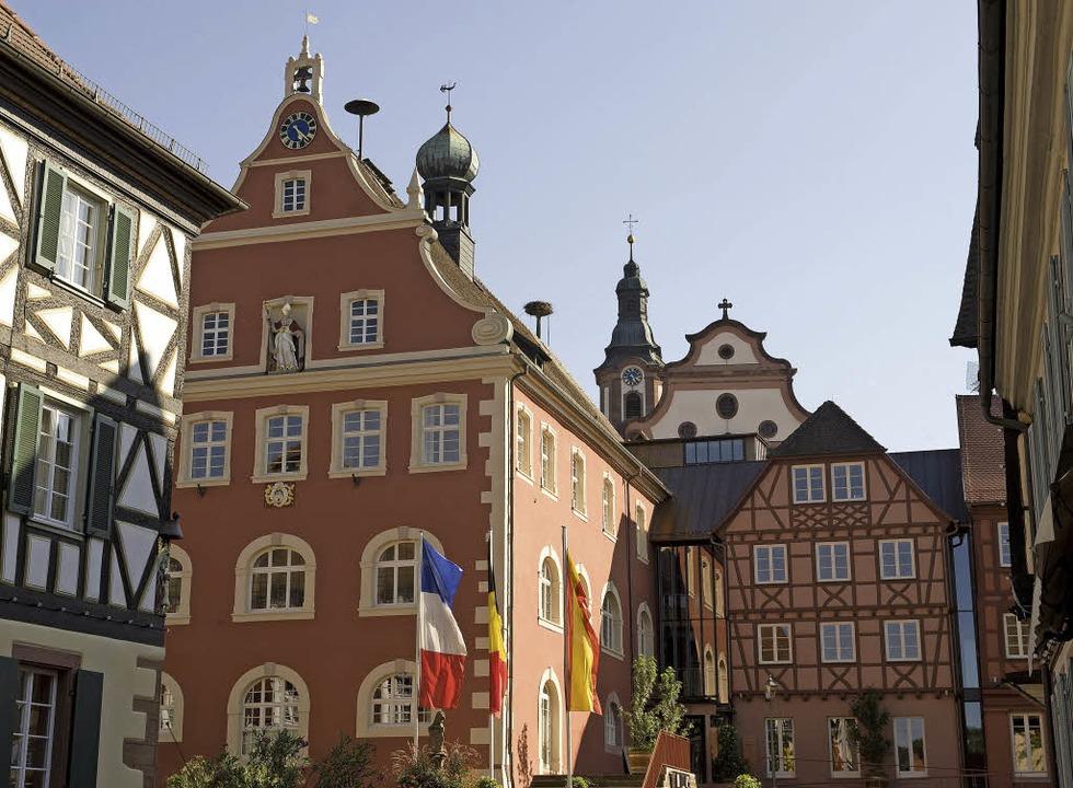 Postkartenmotiv: die barocke Altstadt  | Foto: Stadt