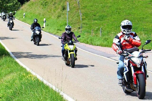 Motorradlärm ist im Kleinen Wiesental an der Tagesordnung