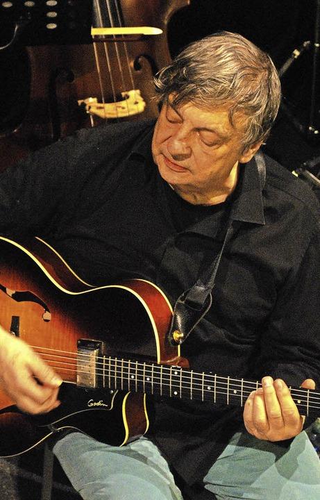 Legendäre Musiker wie der Gitarrist Ph...atherine spielten bereits im Jazztone.    Foto: Thomas Loisl Mink