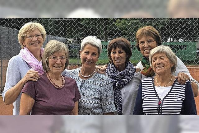 Meisterinnen im Tennis
