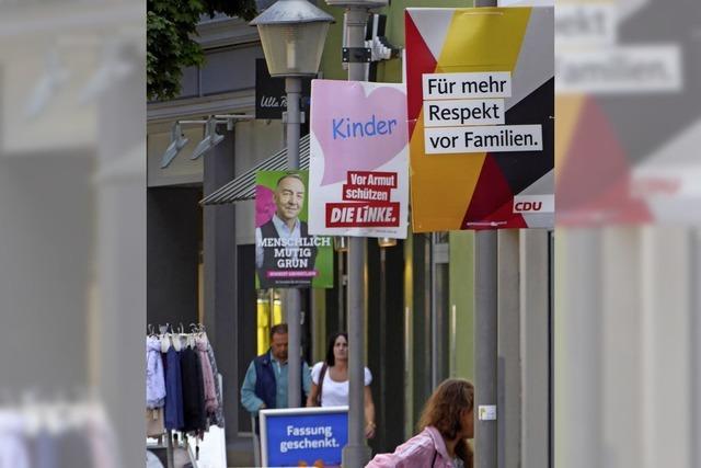 In Offenburg gibt es bei Kleinplakaten keine Eingrenzung