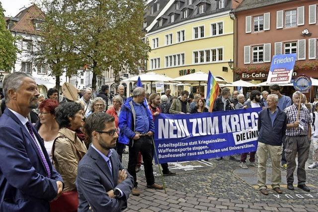 Demo und Kundgebung zum Antikriegstag