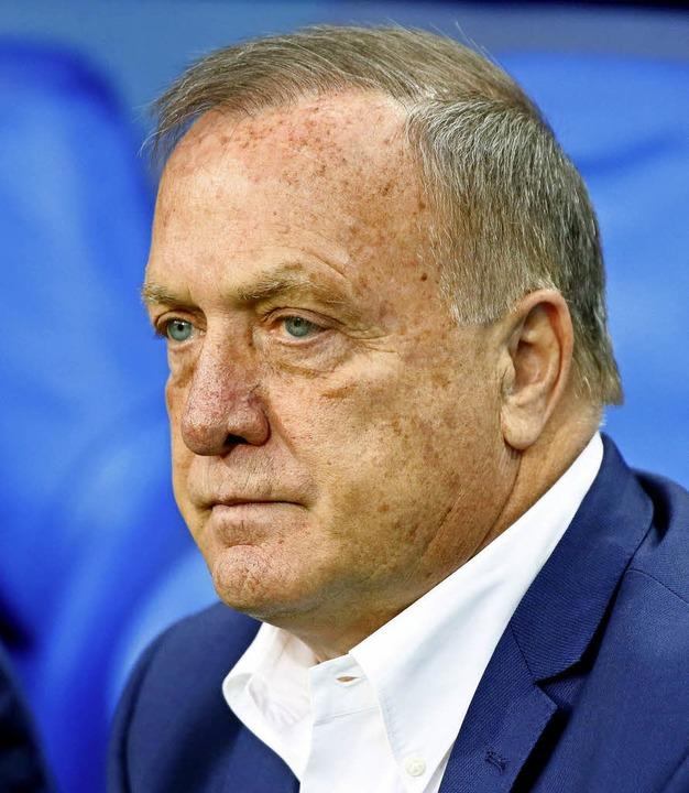 Derzeit in den Niederlanden kein Liebling: Trainer Dick Advocaat   | Foto: dpa
