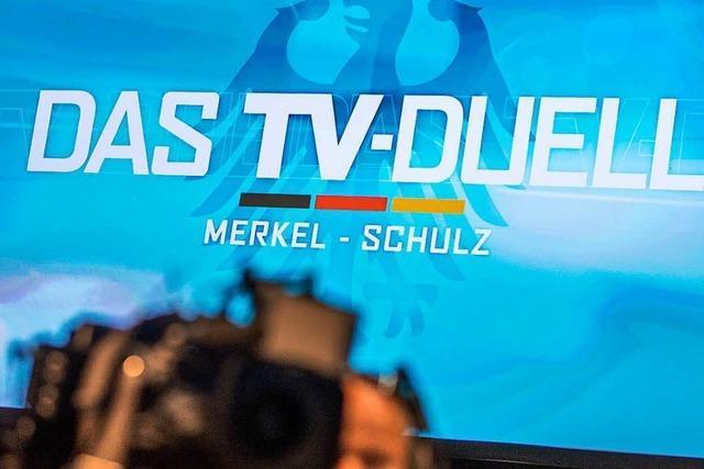 Wie sich Merkel und Schulz aufs TV-Duell vorbereiten