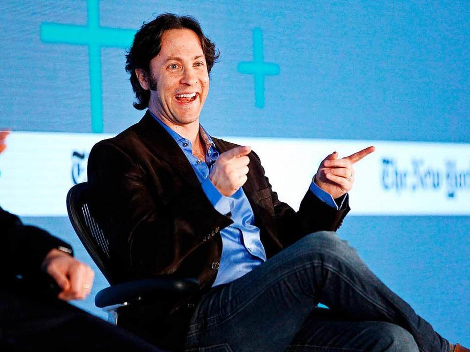 David Eagleman in einer Talkshow  | Foto: Kimberly White