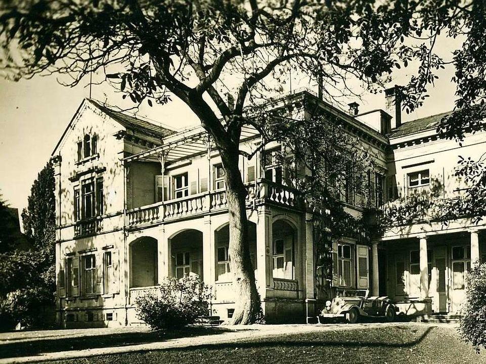 Im Hanns-Ludin-Haus an der Starkenstra...sich die SA-Standarte 113 eingemietet.  | Foto: Archiv Manfred Gallo