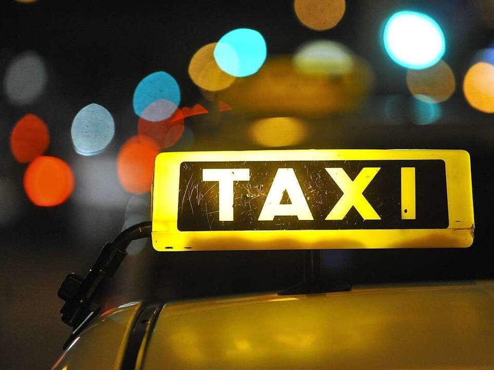 Weithin sichtbar, das Taxizeichen  | Foto: Michael Bamberger