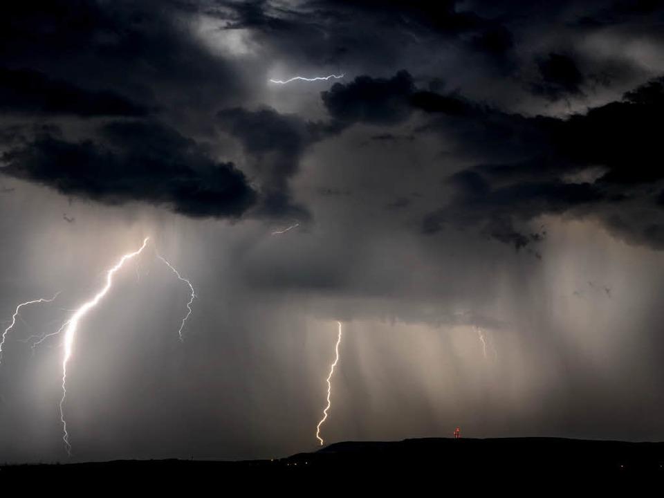 Der Nationalpark-Ranger empfiehlt drin...Bei so einem Wetter raus aus dem Wald.  | Foto: Philippe Thines