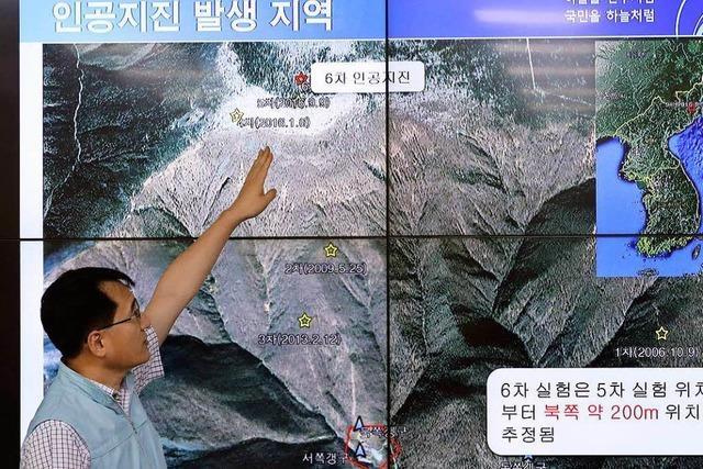 Nordkorea meldet erfolgreichen Test von Wasserstoffbombe