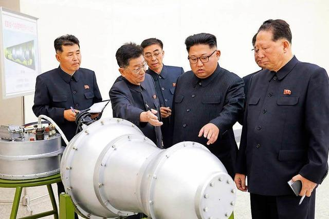 Nordkorea provoziert mit Test von Wasserstoffbombe