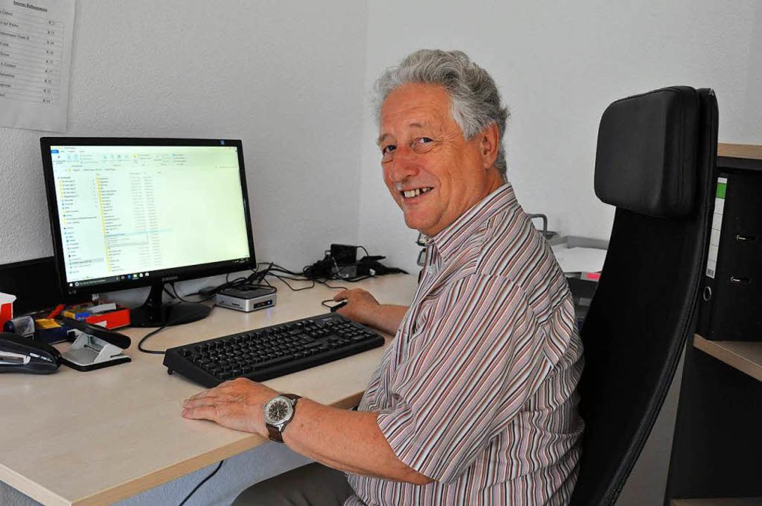 IT-Manager Roland  Bergner von der kir...er digitaler Medien ins Leben gerufen.  | Foto: Kai Kricheldorff