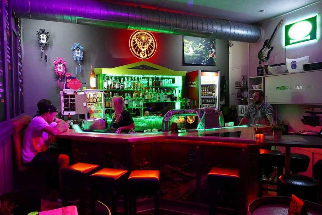 Blick auf die Bar im Kallex in der Neustädter Unterstadt.  | Foto: Silas Schwab