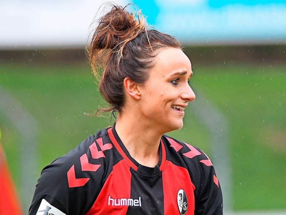 Matchwinnerin Lina Magull  | Foto: Achim Keller