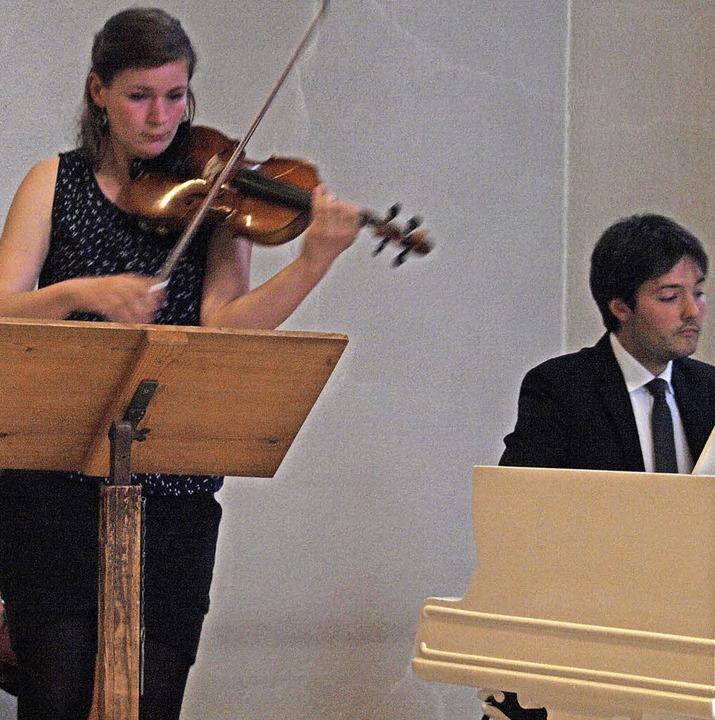 Einen Sonatenabend im Rahmen des Görwi... Klavier, in der Görwihler Pfarrkirche  | Foto: Karin Stöckl-Steinebrunner