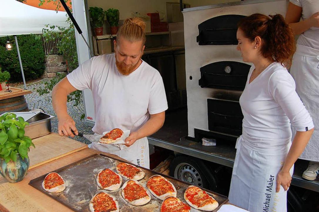 Frische Pizza aus dem Ofen auch nicht    Foto: Christian Ringwald