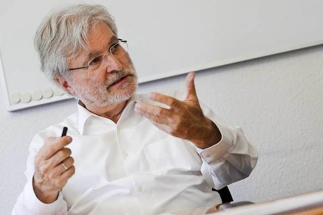 BZ-Herausgeber Hauser sieht bei TV-Duell Schulz im Vorteil