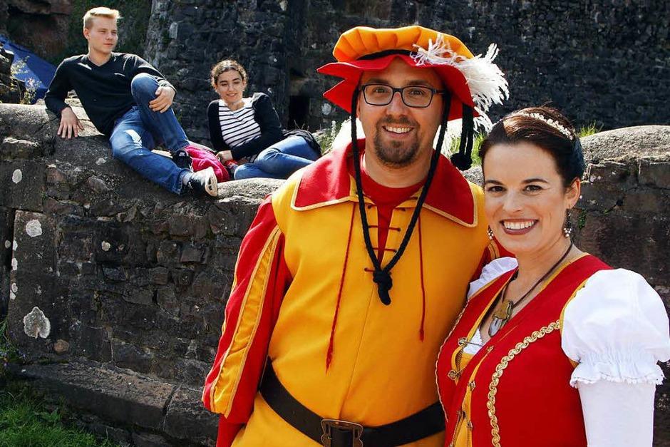 Burgfest auf der Hohengeroldseck (Foto: Heidi Foessel)