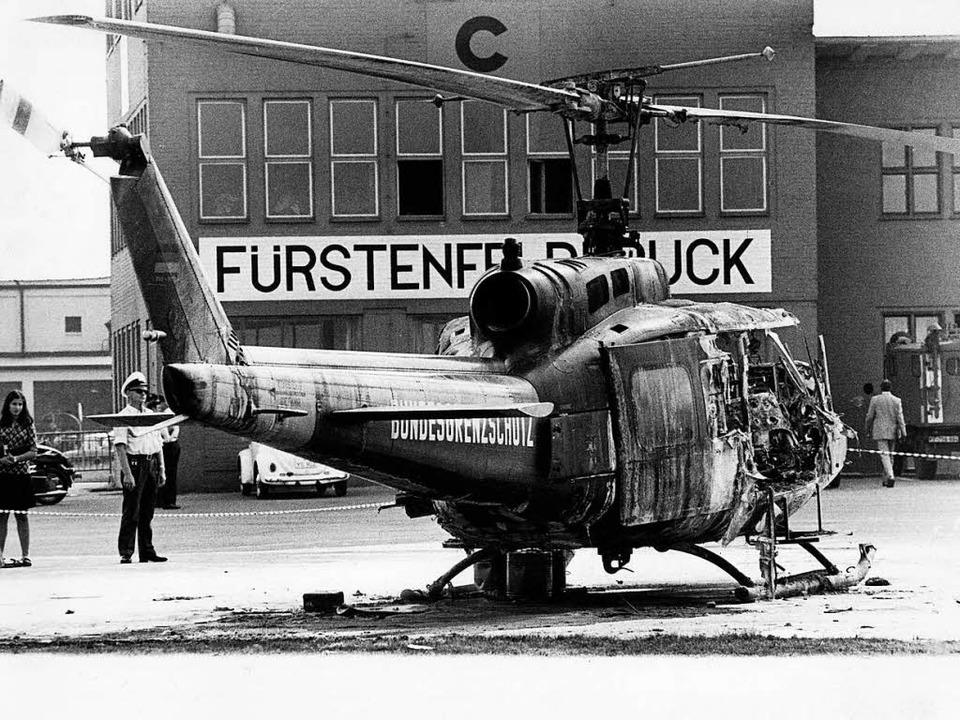 Vor 45 Jahren endete die Geiselnahme a...hen Geiselnehmer fanden dabei den Tod.    Foto: ARCHIVFOTO:  dpa
