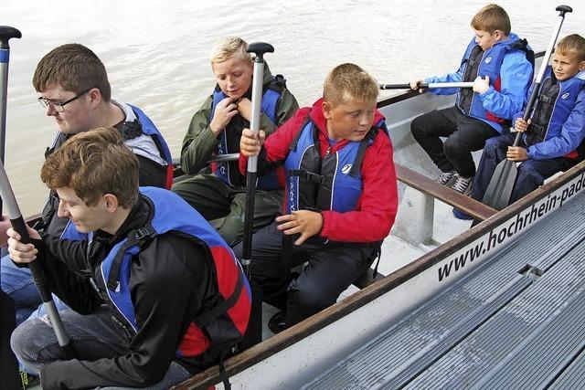 Unterwegs auf dem Rhein