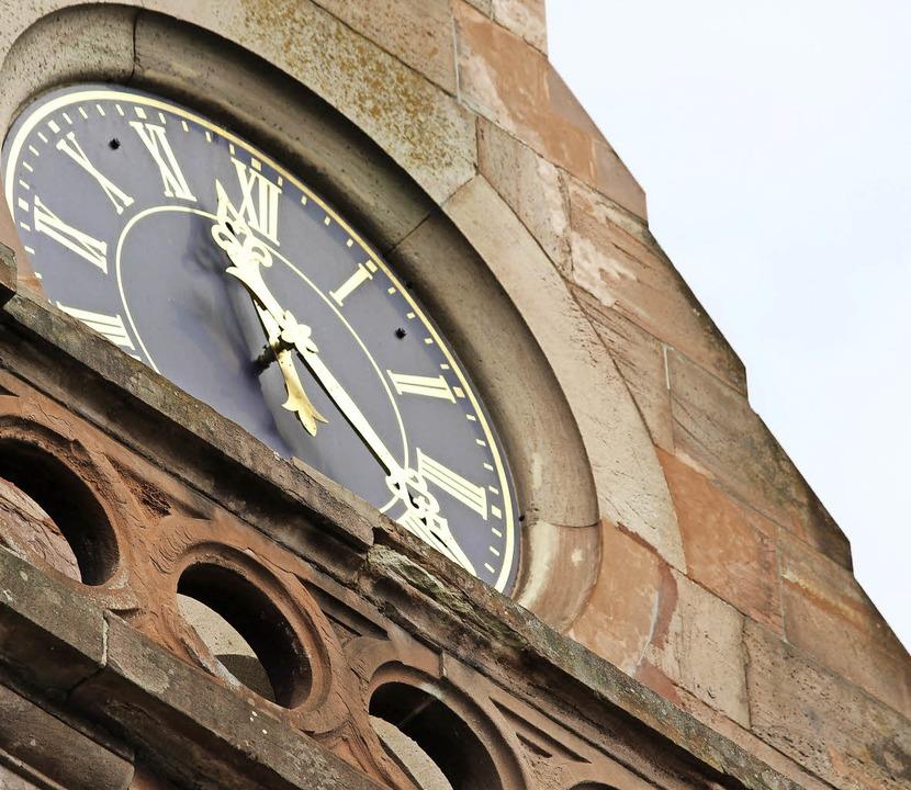 Die Schäden  am Kirchturm sollen repariert werden.   | Foto: klabund