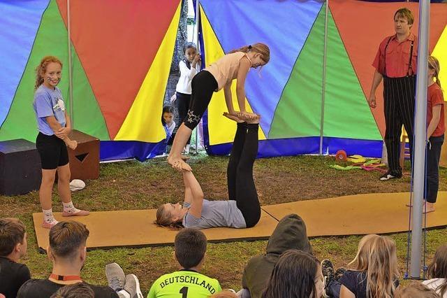 Manege frei beim Zirkus Kaltebastra