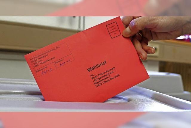 Immer mehr Bürger wählen per Brief