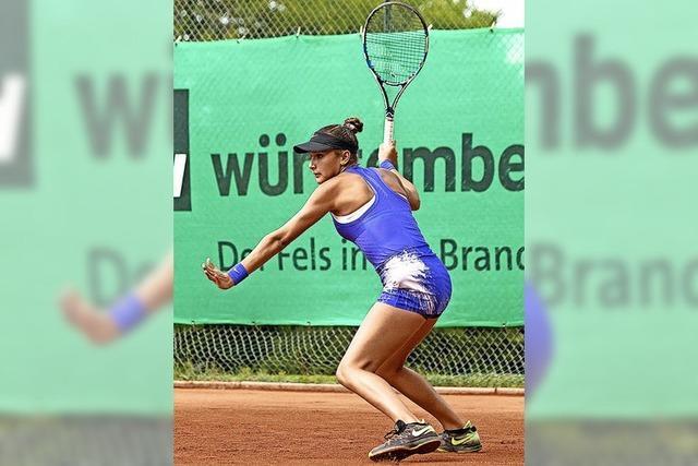 Ein Kurort im Tennisfieber