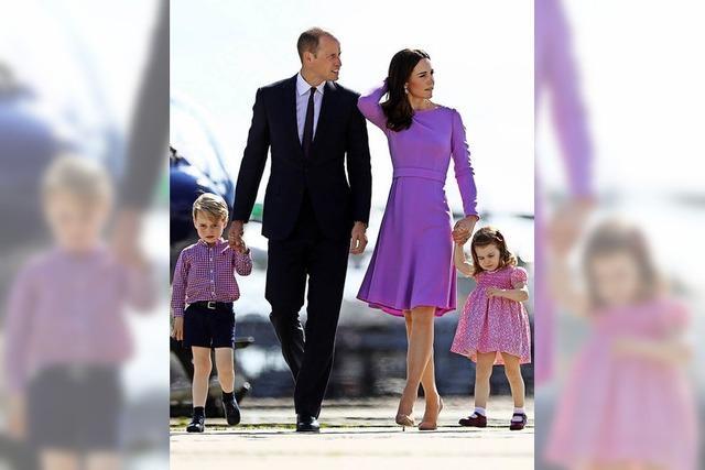 Erneut Nachwuchs für William und Kate