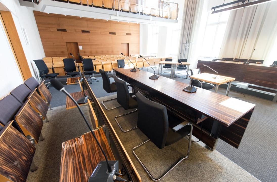 Vor dem Landgericht in Freiburg beginn...Fall der ermordeten Studentin Maria L.  | Foto: dpa