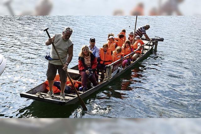 Schatzsuche und Bootstour