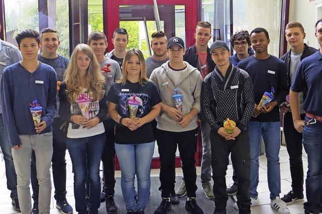 Mesa Parts begrüßt 14 Berufsstarter in der Firma