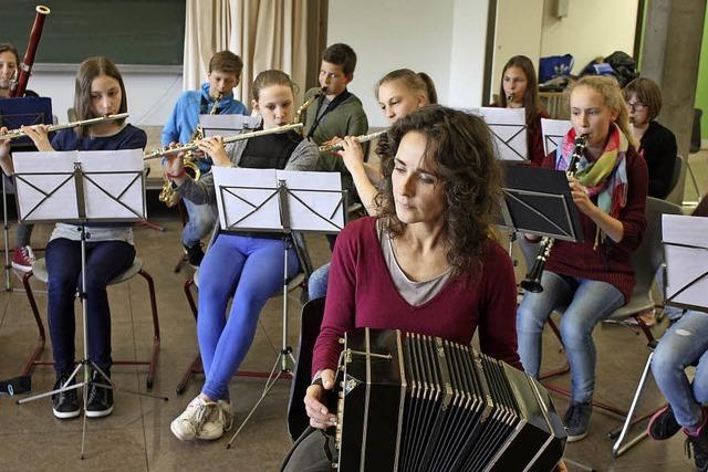 Wo Musik in der Schule klasse ist