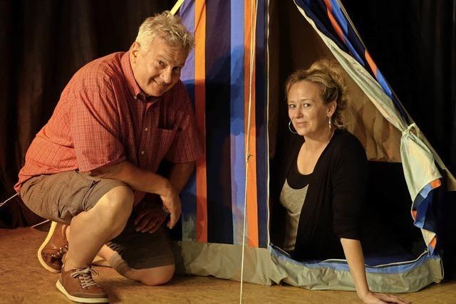 Ein Zelt als Beziehungskiste