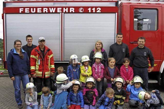 Diplom von der Feuerwehr