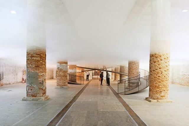 Wenn Wolken aus Neustadt durchs Museum wabern