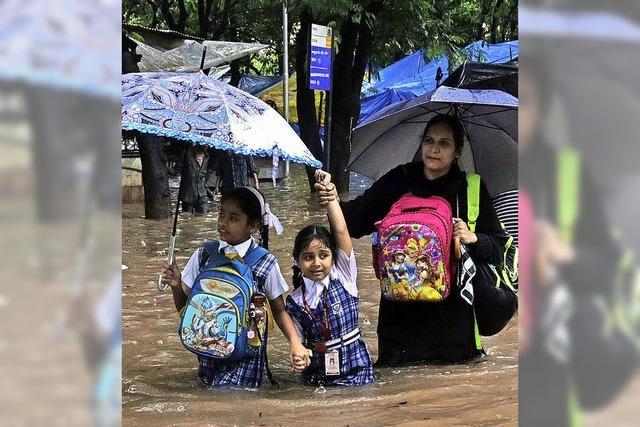 Rotes Kreuz warnt vor den Folgen des Monsuns