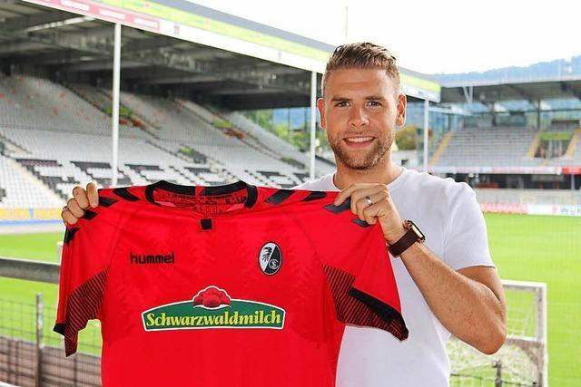 Yoric Ravet ist froh, endlich in der Bundesliga zu spielen