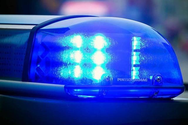Autofahrer flüchtet in Lörrach vor der Polizei