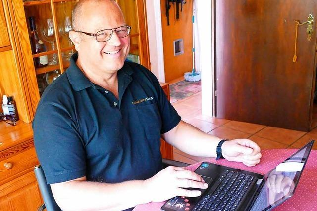 Wie ein Laufenburger den Flutopfern in Texas digital hilft