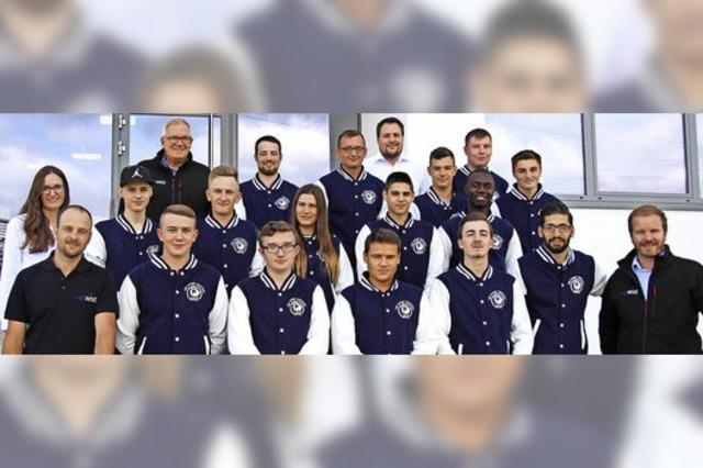 15 neue Auszubildende bei WST Präzisionstechnik