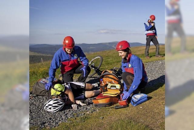 Im Einsatz für die Bergwacht